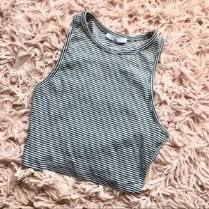 Striped Zara Crop